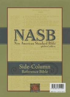 Nasb Side-Column Reference Wide Margin Bible (6.5 X 9.25)
