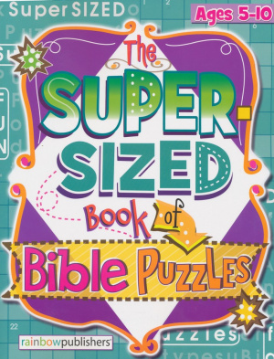 Super Sized Book Bible Puzzles
