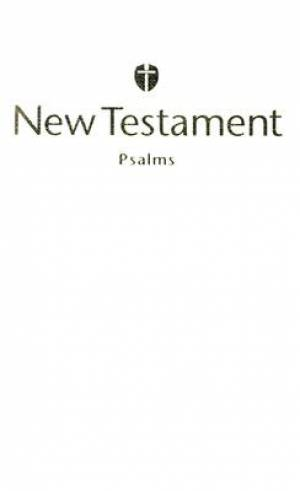 HCSB Economy New Testament with Psalms Imitation Leather White