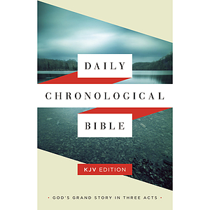 KJV The Daily Chronological Bible Hardback