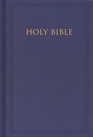 KJV Pew Bible Blue Hardback