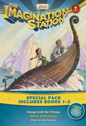 Imagination Station Books 3 Pack