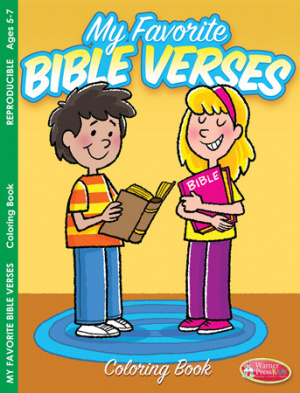 My Favourite Bible Verses Colouring Book