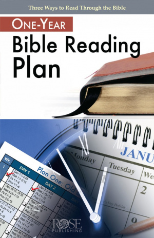 1 Year Bible Reading Plan Pamphlet