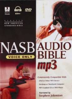 NASB: Audio Bible, Voice Only, MP3 CD plus DVD-Rom