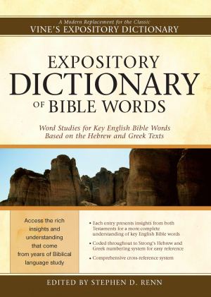 Expository Dictionary Bible Words Pb