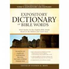 Expository Dictionary Of Bible Words Super Saver