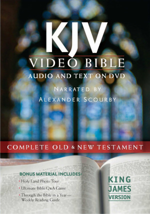 Bible On DVD Narrated By Alexander Scourby