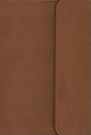 KJV Compact Reference Bible Brown Imitation Leather