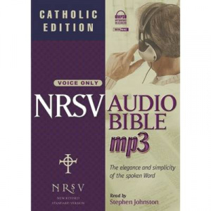 NRSV MP3 Audio Bible: Catholic Edition