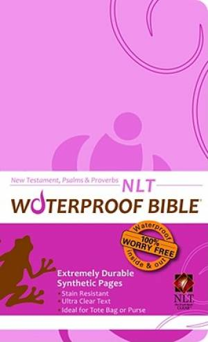 NLT Waterproof Pink NT Psalms and Proverbs