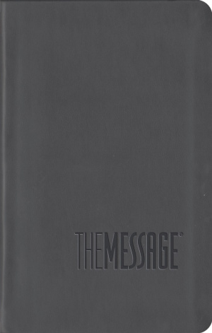 The Message: Grey, Leather-look, Compact Edition