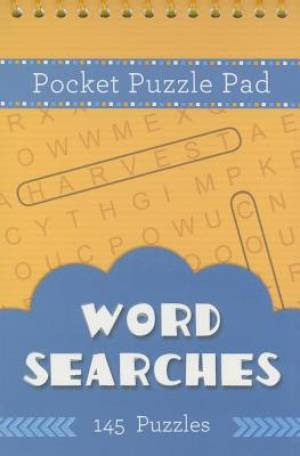 Pocket Puzzle Pad: Word Searches