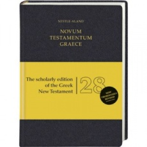 Novum Testamentum Graece Nestle-Aland (NA28)