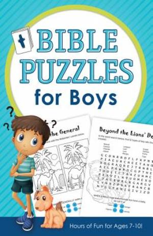 Bible Puzzles for Boys