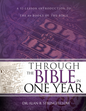 Through The Bible In One Year Paperback Book