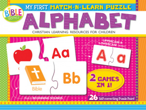 My First Match-n-Learn Puzzle: Alphabet Game