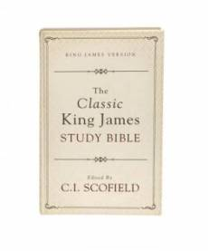 Classic King James Study Bible Edited By C I Schofield Hardback
