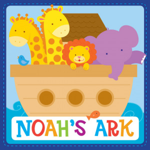 Noah's Ark Padded Board Book