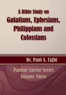 A Bible Study on Galatians Through Colossians