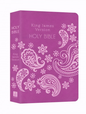 Kjv Deluxe Gift & Award Bible (Purple)