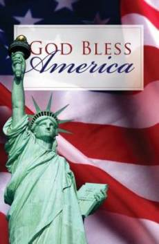 God Bless America (Pack Of 25)