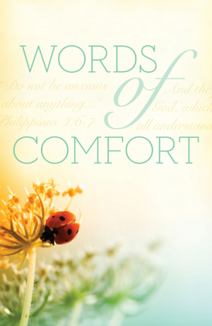 Words Of Comfort (Pack Of 25)