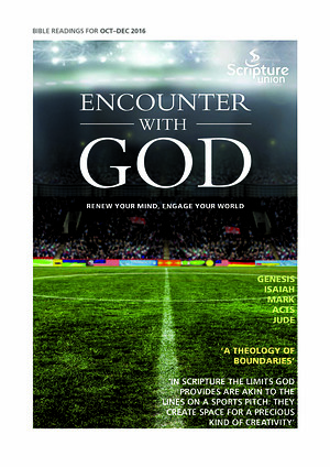 Encounter with God October - December 2016