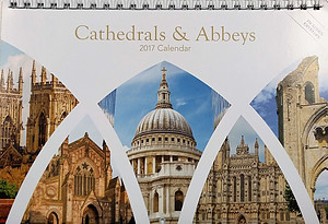 Cathedrals and Abbeys 2017 Calendar