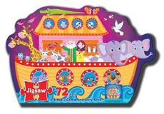 Jigsaw Puzzle: Noah's Ark - A Bible Jigsaw and Story Book