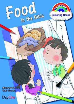Food in the Bible Colouring Book
