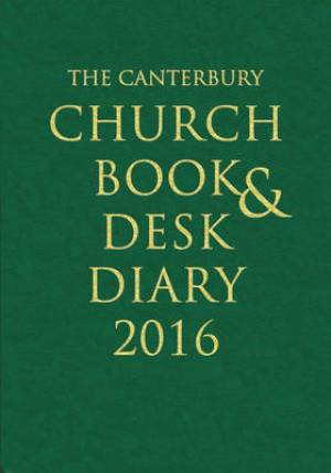 The Canterbury Church Book and Desk Diary 2016