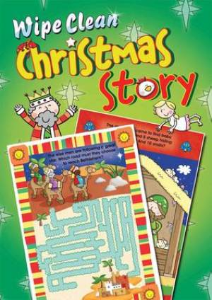 Wipe Clean Christmas Story