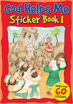 God Helps Me Sticker Book 1