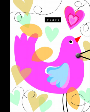 Peace Journal With ERV Text