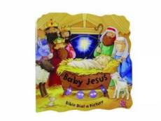 Dial a Picture Baby Jesus Board Book