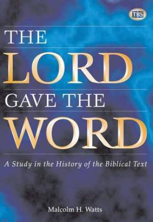 The Lord Gave the Word Article