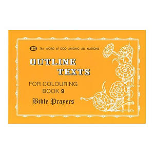 Colouring Book: Bible Prayers
