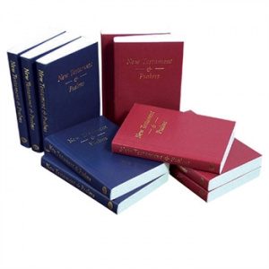 KJV Pocket New Testament And Psalms Blue