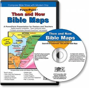 Then And Now Bible Maps CDRom