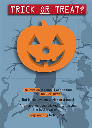 Trick or Treat Tract: Pack of 25