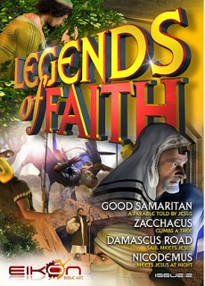Legends of Faith Comic - Issue 2