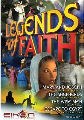 Legends of Faith Comic - Issue 4