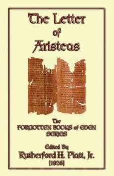 The Letter of Artisteas - The Forgotten Books of Eden Series