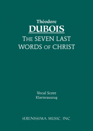 The Seven Last Words of Christ - Vocal Score