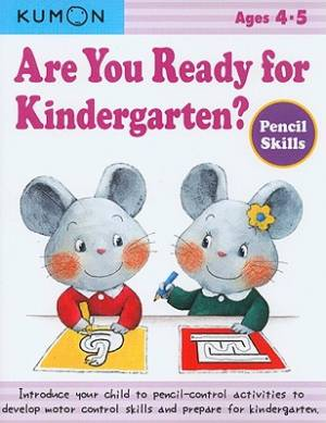 Are You Ready For Kindergarten Pencil Skills