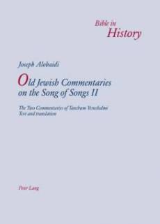 Old Jewish Commentaries on the Song of Songs II