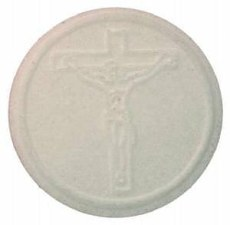 Peoples Altar Bread Crucifix - Pack of 250
