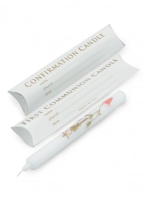 First Communion/Confirmation Candle (Each)