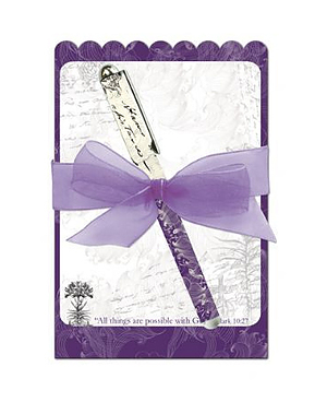 All Things Are Possible Notepad and Pen Set